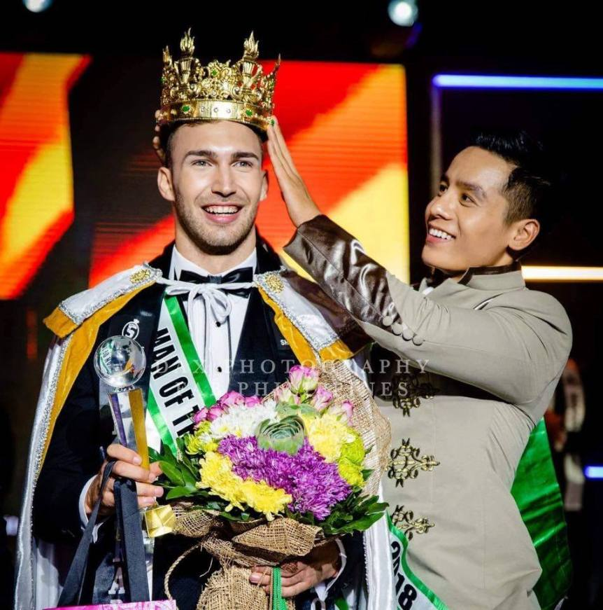 Daniel Georgiev Man of the World 2019