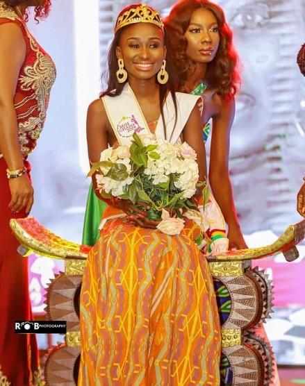 Miss World Ghana Rabecca